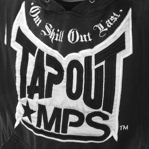 Tap Out Hooded Pullover (Old Skool-Vintage)